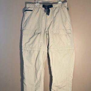 The North Face convertible hiking pants shorts